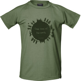 Isbjörn Earth Shortsleeve Shirt Children olive